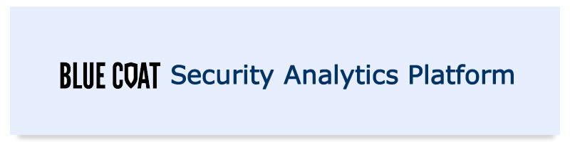 BLUECOAT Security Analytics Platform